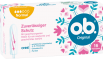 Vorderseite der Verpackung des o.b.® Original Normal Tampons mit 16 Stück